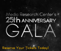 The Media Research Center Banner ad