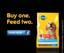 Pedigree Display ad