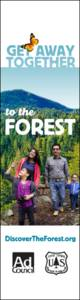 Discovertheforest.org Banner ad