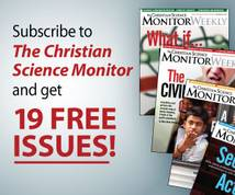 The Christian Science Monitor Banner ad