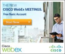 Webex Display ad