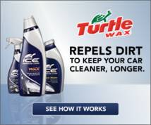 Turtle Wax Display ad