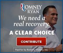 mitt romney Display ad