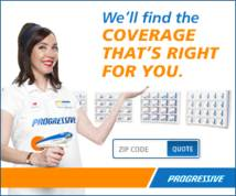 Progressive Direct Banner ad