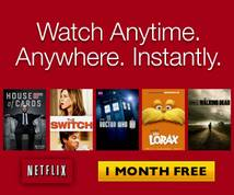 Netflix Display ad