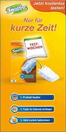 Swiffer Display ad