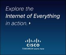 Cisco Display ad