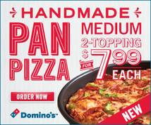 Domino's Pizza Banner ad