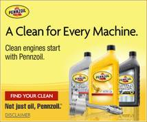 Pennzoil Display ad