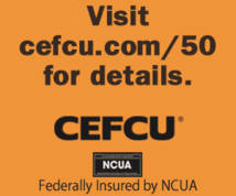 Cefcu Display ad