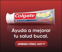 Colgate Total Display ad