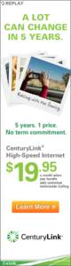 CenturyLink Display ad