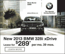 BMW Display ad