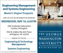 George Washington University Banner ad