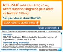 Relpax Display ad
