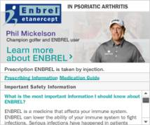 Enbrel Display ad