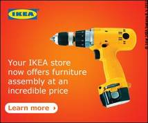Ikea Display ad
