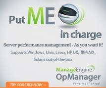 Manage Engine Banner ad