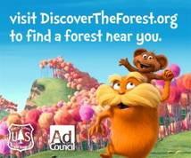 Discovertheforest.org Display ad