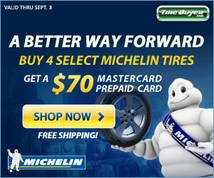 Michelin Display ad