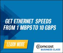 Comcast Display ad