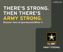U.s. Army Display ad