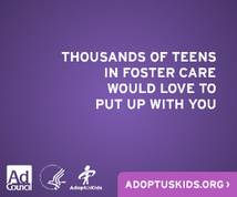 Adoptuskids Display ad