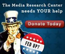 The Media Research Center Display ad