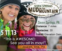 Mud On The Mountain Banner ad