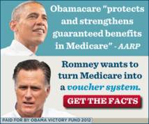 Obama Victory Fund 2012 Display ad