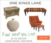 One Kings Lane Display ad