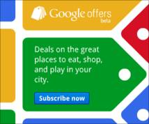 Google Offers Banner ad