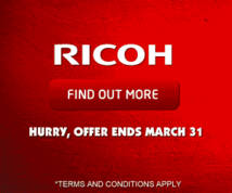 Ricoh Display ad
