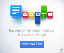 Google Apps For Business Banner ad