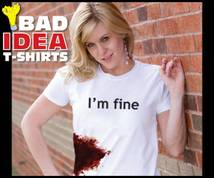 Bad Idea T-shirts Banner ad