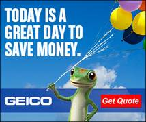 Geico Display ad