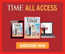 Time Magazine Banner ad