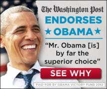 obama victory fund 2012 Banner ad
