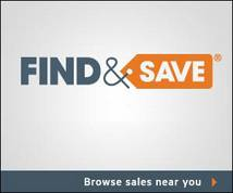 Find & Save Banner ad