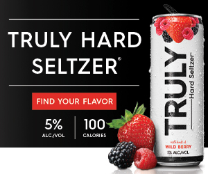 An example of desktop ad by Truly Hard Seltzer
