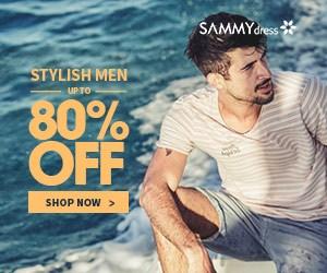 Sammydress Sammydress Men's Fashion promotion